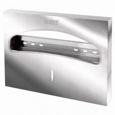Диспенсер для покрытий на унитаз LAIMA PROFESSIONAL INOX, (Система V1) 1/2, нержавеющая сталь, зеркальный, 605703