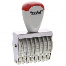 Нумератор ручной ленточный, 8 разрядов, оттиск 38х5 мм, TRODAT 1558, 86111