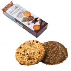 Печенье БИСКОТТИ с фундуком, шоколадом и вафельной крошкой, сдобное, 100 г