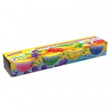 Песок для лепки кинетический ЮНЛАНДИЯ, 4 цвета, 560 г, формочка, картонный рукав