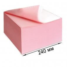 Бумага самокопирующая с перфорацией цветная, 240х305 мм 12, 2-х слойная, 900 комплектов, DRESCHER, 110694