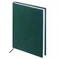 Ежедневник BRAUBERG недатированный, А5, 138х213 мм, Select, под зернистую кожу, 160 л., зеленый, 123431