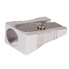 Точилка BRAUBERG Style, металлическая клиновидная, в картонной коробке, 222484