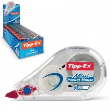 Корректирующая лента BIC Tipp-ex Mini Pocket Mouse, 5 мм х 5 м, 932564