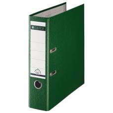 Папка-регистратор LEITZ, механизм 180°, с покрытием из полипропилена, 80 мм, зеленая, 10101255P