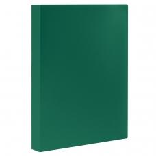 Папка 100 вкладышей STAFF, зеленая, 0,7 мм, 225715
