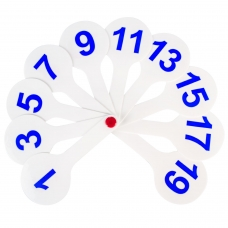 Веер-касса цифры от 1 до 20 ПИФАГОР, 227392