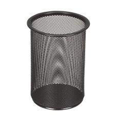 Подставка-органайзер BRAUBERG Germanium, металлическая, круглое основание, 158х120 мм, черная, 231966