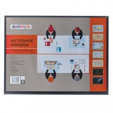 Коврик-подкладка настольный для письма, с карманом, 490х650 мм, ДПС, 2879.П