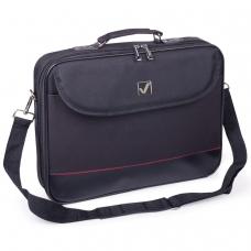 Сумка деловая BRAUBERG Profi, 25х35х7 см, отделение для планшета и ноутбука 13,3, ткань, черная, 240440