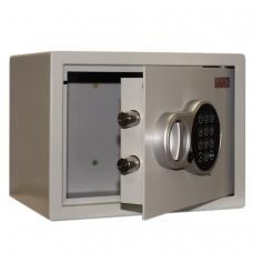 Сейф офисный мебельный облегченной конструкции AIKO T-23 EL, 230х300х250 мм, 5,5 кг, электронный замок, крепление к стене/полу