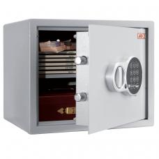 Сейф офисный мебельный облегченной конструкции AIKO T-28 EL, 280х340х295 мм, 8 кг, электронный замок, крепление к стене, полу