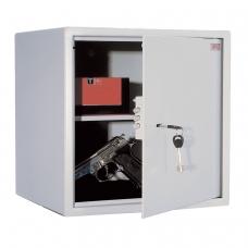 Сейф офисный мебельный облегченной конструкции AIKO T-40, 401х400х356 мм, 19 кг, ключевой замок, крепление к стене, полу