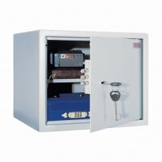 Сейф офисный мебельный облегченной конструкции AIKO Т28, 280х340х295 мм, 8 кг, ключевой замок, крепление к стене, полу