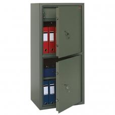 Сейф офисный VALBERG ASM-120Т/2, 1200х550х390 мм, 96 кг, 2 отделения, ключевой замок
