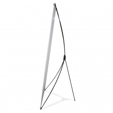 Стенд мобильный для баннера, X-banner А2, размер рекламного поля 800х2000 мм, углепластик, 290518