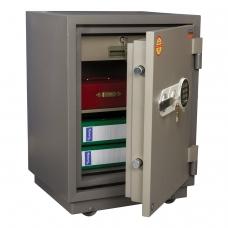 Сейф огнестойкий VALBERG FRS-66T EL, 672х485х430 мм, 79 кг, электроный замок + ключ, трейзер, крепление к полу