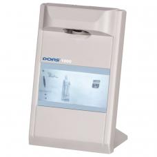 Детектор банкнот DORS 1000 М3, ЖК-дисплей 10 см, просмотровый, ИК-детекция, спецэлемент М, серый, 1000M3