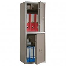 Сейф офисный AIKO ТМ-120/2Т, 1200х440х355 мм, 52 кг, 2 отделения, ключевые замки, трейзер