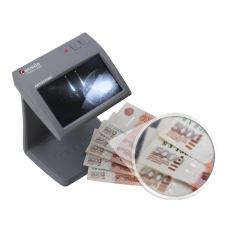 Детектор банкнот CASSIDA Primero Laser, ЖК-дисплей 11 см, просмотровый, ИК, антитокс, спецэлементМ, 3391