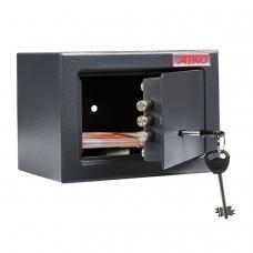 Сейф офисный мебельный облегченной конструкции AIKO T-140 KL, 140х195х140 мм, 3 кг, ключевой замок, крепление к стене