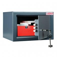 Сейф офисный мебельный облегченной конструкции AIKO T-170 KL, 170х260х230 мм, 5 кг, ключевой замок, крепление к стене