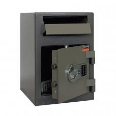 Сейф депозитный VALBERG ASD-19 EL, 489х342х381 мм, 38 кг, электронный замок, крепление к полу