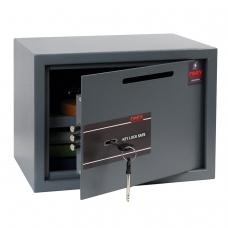 Сейф депозитный мебельный облегченной конструкции ONIX LS-25KD, 250х350х250 мм, 7,5кг, ключевой замок