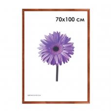 Рамка премиум 70х100 см, дерево, багет 26 мм, Linda, орех, 0065-70-0006