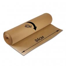 Крафт-бумага в рулоне, 840 мм х 40 м, плотность 78 г/м2, BRAUBERG, 440146