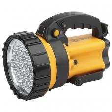 Фонарь-прожектор светодиодный ЭРА PA-603 АЛЬФА, 36xLED, аккумуляторный, заряд от 220V