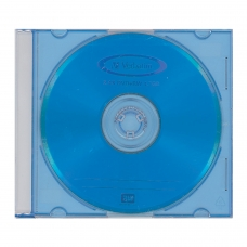 Диск DVD+RW плюс VERBATIM, 4,7 Gb, 4x, Color Slim Case