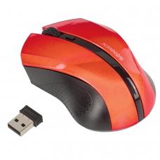 Мышь беспроводная SONNEN WM-250R, USB, 1600 dpi, 3 кнопки + 1 колесо-кнопка, оптическая, красная