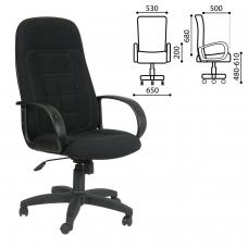 Кресло офисное Универсал, СН 727, ткань, черное, 1081743