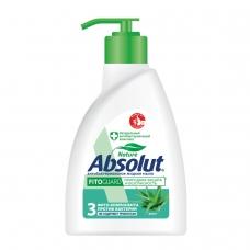 Мыло жидкое 250 мл, ABSOLUT Абсолют, Алоэ, антибактериальное, дозатор, 5009, 5064