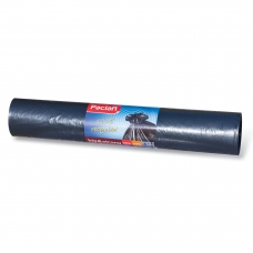 Мешки для мусора 240 л, черные, в рулоне 20 шт., ПНД, 35 мкм, 140х90 см, PACLAN Big&Strong