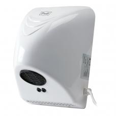 Сушилка для рук PUFF-8814, 800 Вт, время сушки 35 секунд, пластик, белая