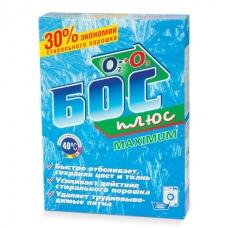Средство для отбеливания и чистки тканей 600 г, БОС плюс Maximum, порошок