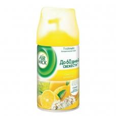 Сменный баллон 250 мл, AIRWICK Лимон и женьшень, для автоматических освежителей, универсальный