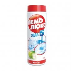 Чистящее средство 480 г, ПЕМОЛЮКС Сода-5, Яблоко, порошок