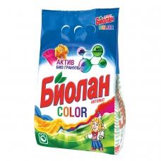 Стиральный порошок-автомат 6 кг, БИОЛАН Color Нэфис Косметикс, 714-4, 108-4