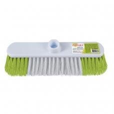 Щетка для уборки, ширина 31 см, щетина 8 см двуцветная, пластик, крепление еврорезьба, ЛЮБАША, 603629