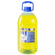Средство для мытья посуды 5 л, ЗОЛУШКА Лимон, пэт, М04-2