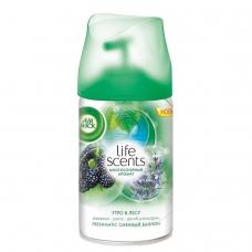 Сменный баллон 250 мл, AIRWICK LifeScents Утро в лесу, для автоматических освежителей, универсальный, 3024889