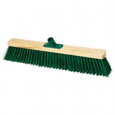 Щетка для уборки техническая, ширина 50 см, щетина 7,5 см, деревянная, еврорезьба, YORK, 120