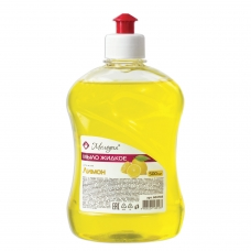 Мыло жидкое 500 мл, МЕЛОДИЯ Лимон, пуш-пул