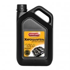 Средство для чистки плит, духовок, грилей от жира/нагара 3 л, UNICUM Gold Professional, 300025