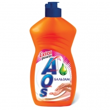 Средство для мытья посуды 450 мл, AOS Бальзам, 1110-3