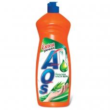 Средство для мытья посуды 900 мл, AOS Бальзам Алоэ Вера, 1113-3