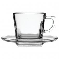 Набор чайный, на 6 персон 6 чашек объемом 210 мл, 6 блюдец, стекло, Baltic, PASABAHCE, 95307